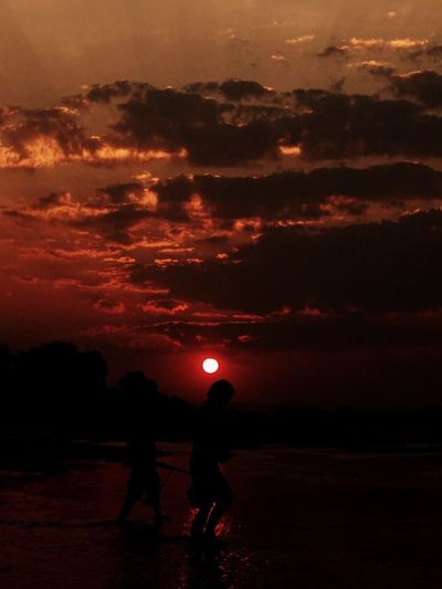 Women Who Inspire You Mother Zambia LuangwaRiver Africa African Sunset Sunset