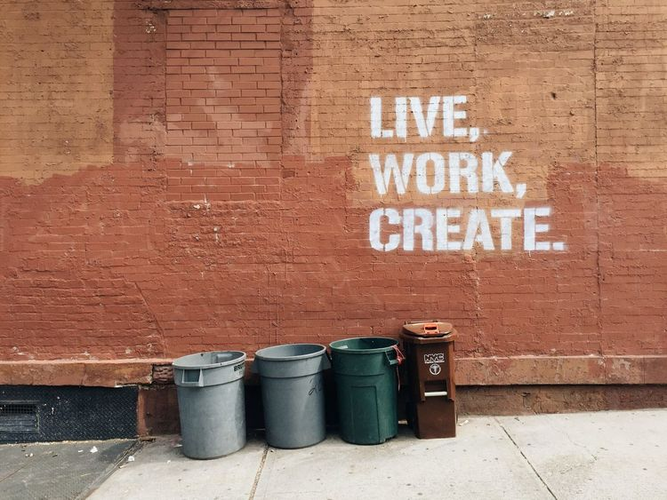 Repeat. Wall Art Street Art Facades Create Getting Inspired Encouragement Street Photography Urban Landscape Urban Art Urbanexploration Brooklyn Urban Scene Saying Wise Words Simplicity Cityscapes