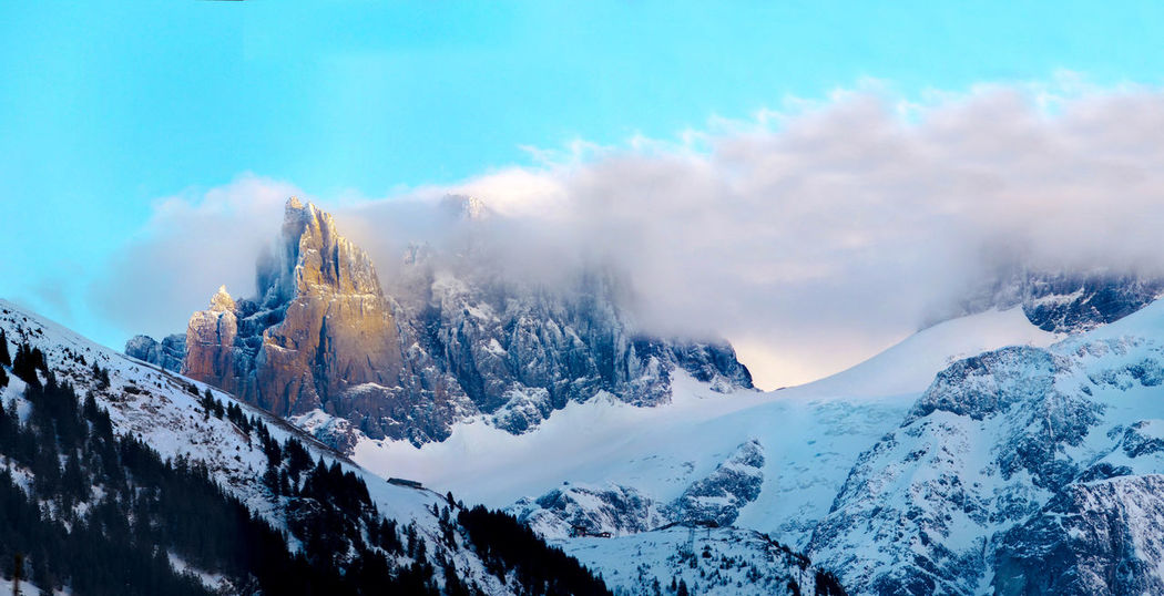 Gross Spannort Engelberg Uri Switzerland Mountain Snow Blue Sky Blue Sky And Clouds Dawn Of A New Day Nature Outdoor Mountain View