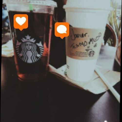 Beautiful ♥ Statbucks Comment Love Friends ❤ Valentine's Day  Cute♡ Heart ❤ Coffee