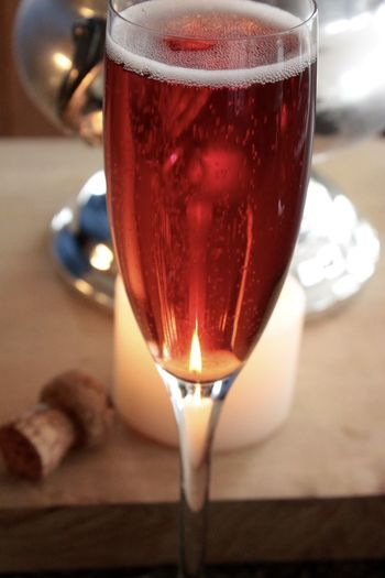 Pink Champagne Wine Not