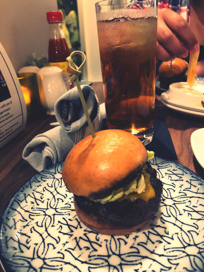 Mini burger for