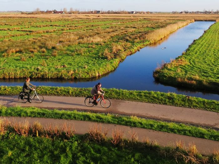 Showcase: January Amsterdam Amsterdamcity Iloveamsterdam Countryside Cycling Better Look Twice