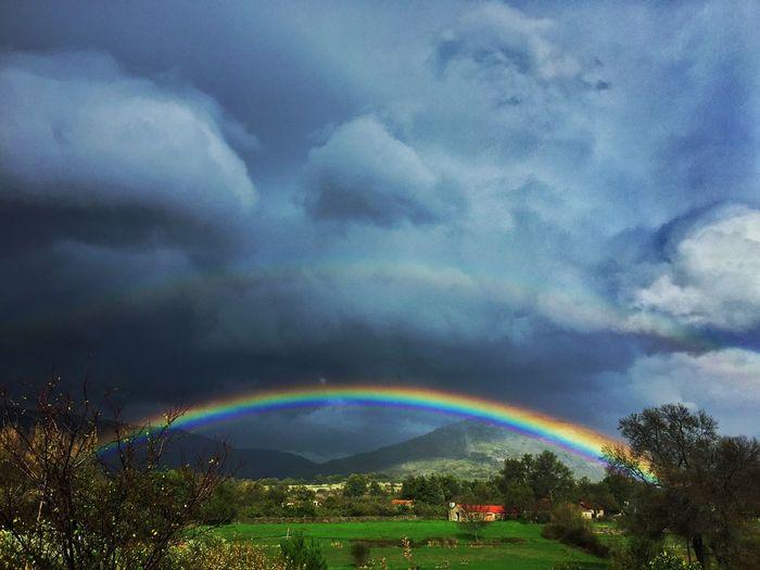 Rainbow Rain Otoño Extremadura Hervás  Colors JohnnyGarcía Autumn Photography Autumn Colors