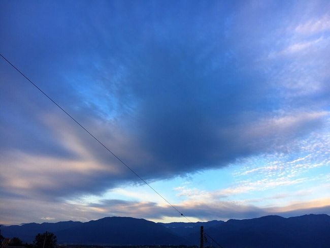 20171005 Good Morning Cloud - Sky Sky イマソラ 青空 空 雲