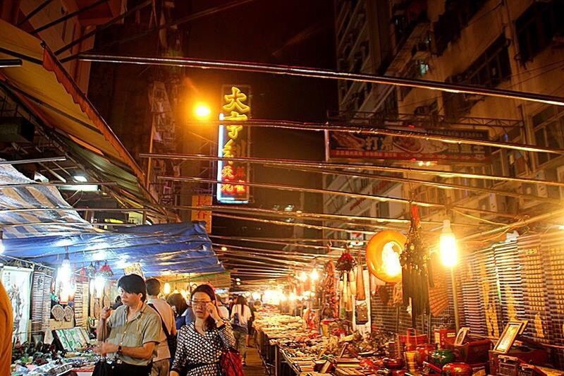 Traditional Culture Nigntmarket HongKong Street