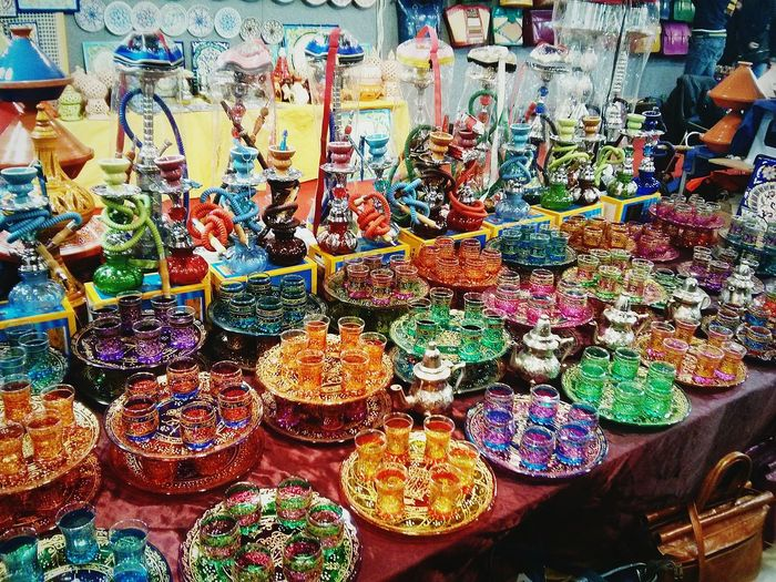 Colour Of Life Festival Dell'oriente Africa Marocco Tea Nargile Narghile Colours Colorful Color Explosion Colour Photography Multi Colored Beautiful Organized