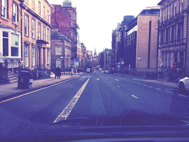 Edinburgh, Scotland, city, street