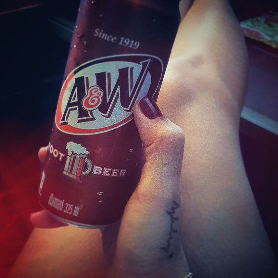 Nice cold rootbeer... My Fav♡ Relaxing