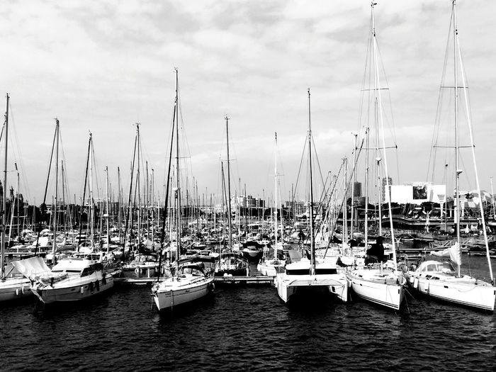 Water Harbor Sea Mode Of Transport Sailboat Outdoors Harbour Harbour View Blackandwhitephotography From My Point Of View Blackandwhite Cloud - Sky Sail Sailing Sailor Eye4photography  Quiet Moments Todayphotography Eyeemphotography Boats Eye4photography  Nonoise Blackwater Nature Nautical