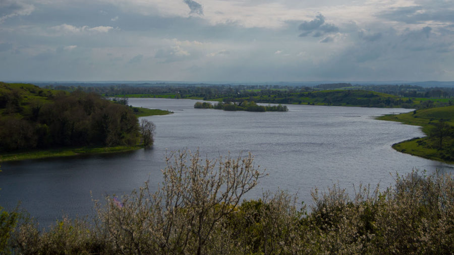 18-55mm Beauty In Nature Calm Cloud - Sky Cloudy HillTopView Ireland Island Lake Landscape Loch Gurr Nature Nikon D3200 Outdoors Scenics Sky Tranquil Scene Tranquility Water
