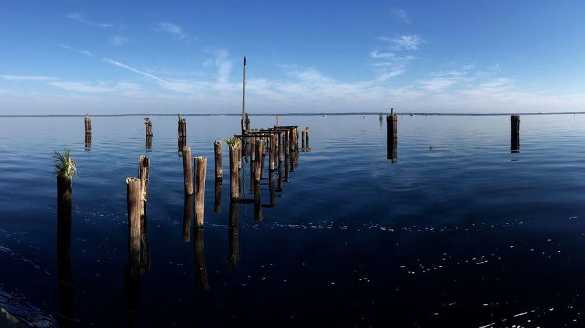 Lake Monroe Pano Panorama Water Landscape St. Johns River Florida Sanford IPhoneography Iphone6plus