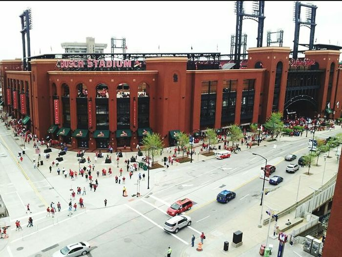 St. Louis Busch Stadium St. Louis Cardinals Great View Fans Enjoying Life Cardinal Nation Baby <3 Baseball ⚾