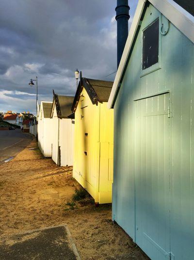 Felixstowe Beach Huts. Beachphotography beach huts Felixstowe Beachhut