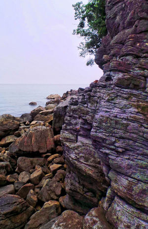 Beauty Of Tiwi Albay Gods Creation Nature Photography Nature_collection Rock Formation Wall Rock