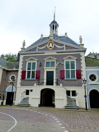 former townhall Sommelsdijk Architecture Building Exterior Built Structure Day Dutch Façade Historical Historical Building History Middelharnis No People Outdoors Sommelsdijk Tourism Townhall Travel Destinations