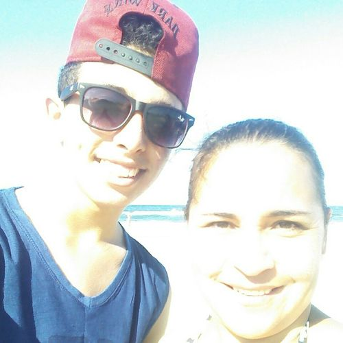 Beach Day Beautiful Instagram @gbriel_mrq minha tia linda *-*