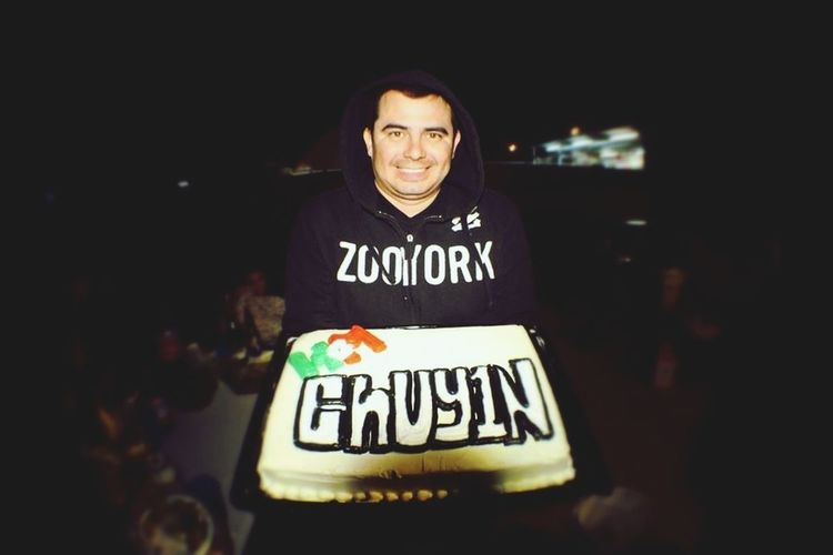 My B-Day cake from HGM HyperGamersMexico