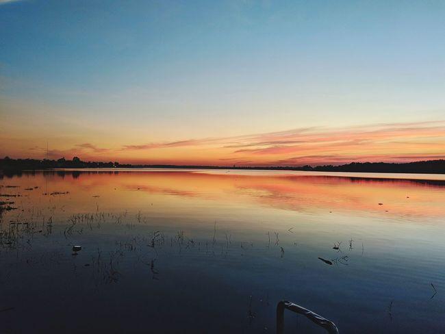 Salt - Mineral Salt Basin Water Clear Sky Sunset Beach Desert Salt Flat Blue Lake