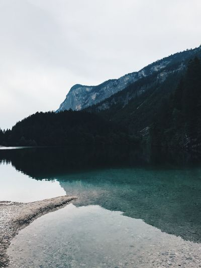 L A K E T O V E L Water Lake Mountain Nature Beauty In Nature Tranquility Tranquil Scene Outdoors Landscape Mountain Range Tree Sky First Eyeem Photo