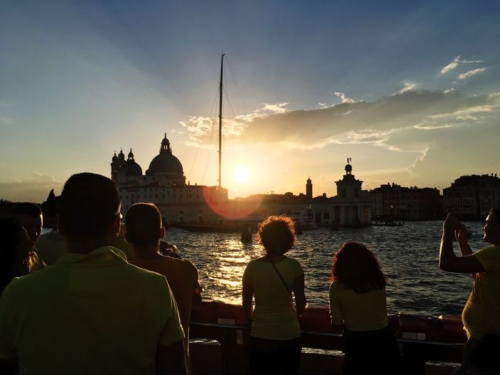 Sunset Gorgeous Bestview Venice Lookingup POV Venice From Lagoon Insearchof