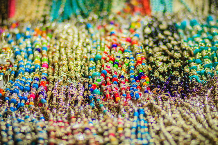 Colorful bracelets, beads and necklaces souvenir for sale on street at Khao San Road night market, Bangkok, Thailand. Bracelets Khao San Rd Khao San Road KhaoSan Khaosan Rd. Khaosandroad Necklaces Tourist Tourist Attraction  Tourists Abundance Backgrounds Bead Celebration Choice Close-up Confetti Food Food And Drink For Sale Full Frame Indoors  Khao San Khao San Knok Wua Khao San Rd. Khaosan Road Khaosanroad Large Group Of Objects Multi Colored Night Market Night Market In Thailand Night Market, No People Retail  Selective Focus Still Life Sweet Food Temptation Tourist Destination Variation