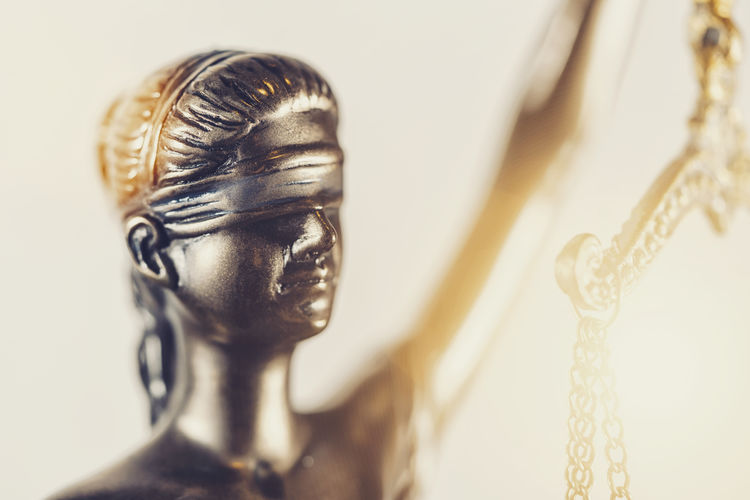 Face of lady justice or Iustitia - The Statue of Justice Wooden Verdict Trial Tracking Shot Symbolic  Symbol Studio Shot Still Life Steel Statue Selective Focus Sculpture Rights Representation Religion Punishment Practice Ornate Order No People Moving Metal Mallet Male Likeness Luxury Litigation Liberty Legal Profession Legislation Legal Lawyer Law Lady Justice Justitia Justice Jury Judicial Judgment Judge Jewelry Iustitia Investigate Innocence Indoors  Human Representation Guilty Government Gold Colored Gavel Freedom Focus On Foreground Face Equality Defendant Defend Decision Criminal Crime Creativity Courtroom Courthouse Court Condemn Concept Close-up Chain Case Bronze Belief Balance Authority Attorney Art And Craft