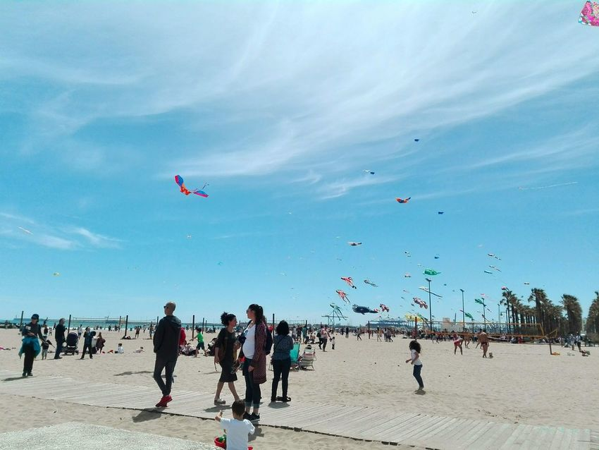 Wave Nature Beach Flying Sand People Day Outdoors Large Group Of People Airshow Sky Kite - Toy Sea Photographer Artphotography EyeEmNewHere Sunset Lovely Photograph Cool Cute Photographylovers Silhouette PhonePhotography Seascape