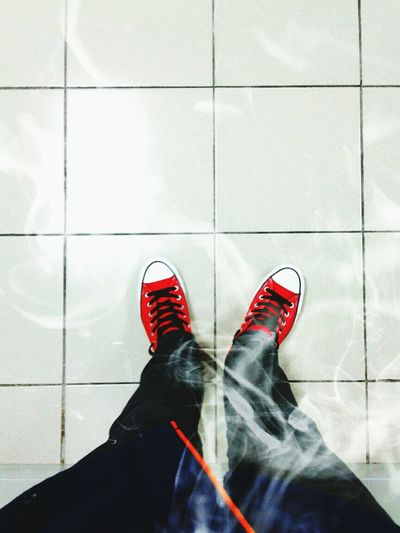Smooking is bad for your Health . live Life to the fullest. wearing Converse All Star today