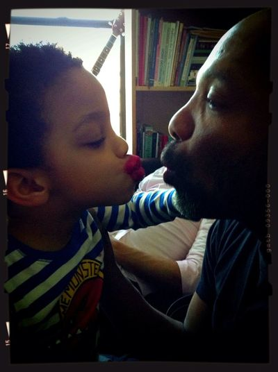 Amar'E Et Jun-Jun (father & Son)
