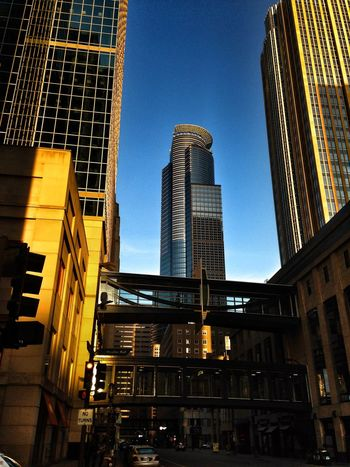 DowntownMPLS Minneapolis Minnesota Architecture Light And Shadow Urban Landscape Urban Geometry Urbanscape Urban Photography Urbanphotography Cityscapes Afternoon Blues Looking Up Capella Tower