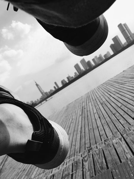 Two Is Better Than One Enjoying Life IPhone Photography VSCO Cam Fresh On Eyeem  南京 玄武湖 Summer2016 Nanjing Black & White The Magic Mission Monochrome Photography