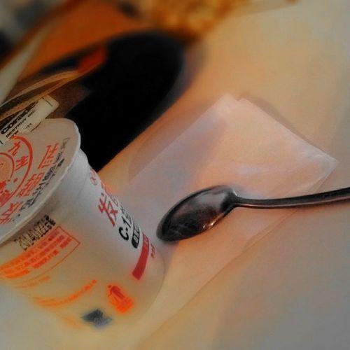 Yoghurt Spoon Blur Titling Health