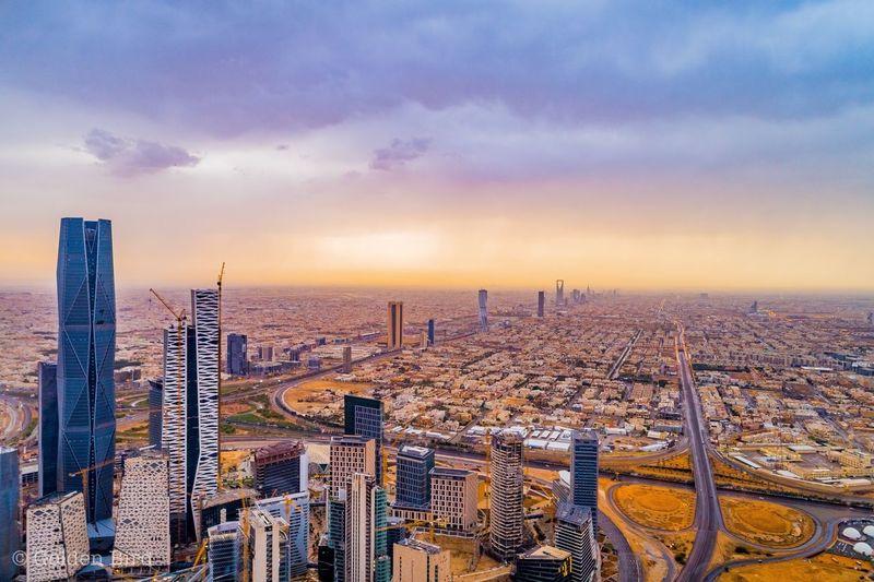 Riyadh towers .