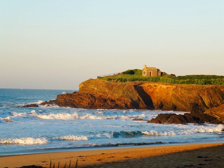 Bretagne France Sea Sunrise Sunrise_sunsets_aroundworld Check This Out House Nature