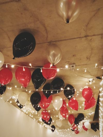 ready for our EyeEm Xmas party Balloon Balloons Eyeem Xmas Party 2018 Red Food And Drink