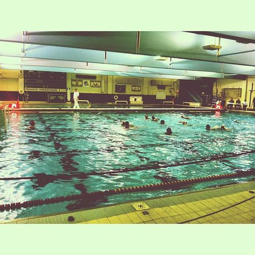 Last sectionals ill be going to Fenwick Morton Waterpolo Sad