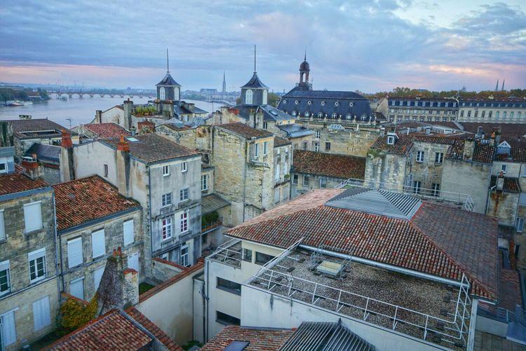 Les toits de Bordeaux ❤️ Architecture Built Structure City La Vie Et Belle ❤ Paris, France  Fresh On Eyeem  Colorful Photography Colors Multi Colored Building Exterior Bordeaux Toits Bordeaux Paisage France