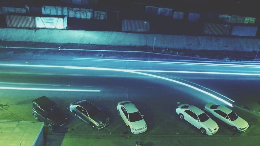 Арын зам... Lightpainting Traffic Car Night