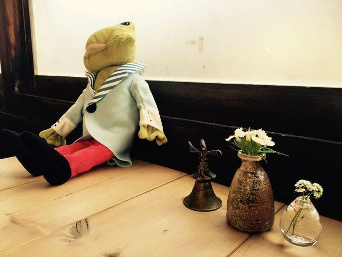 Glass Coffee ☕ Kobe Japan Relaxing Breaktime Cheese! Hello World