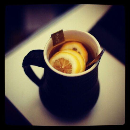Ох уж это время... чая с лимоном...)