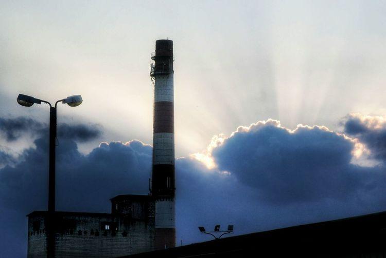 Chimney Chimney Factory Sunrise My Point Of View EyeEm Best Shots Poland