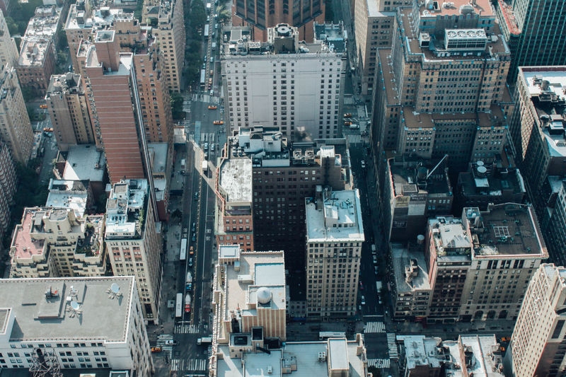 Aerial View Architecture Building Exterior Building Story A Bird's Eye View City City Life Cityscape Crowded Development Elevated View Full Frame Growth High Angle View Metropolis Modern New York Office Building Outdoors Skyscraper Tall Tall - High Tower Travel Destinations Urban Skyline