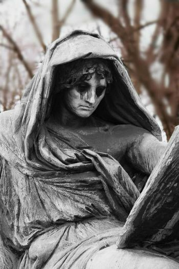 """""""Tears a words that need to be written"""" - Paulo Coelho Reflecting Sadness Sadness Sculpture Sculpturepark"""