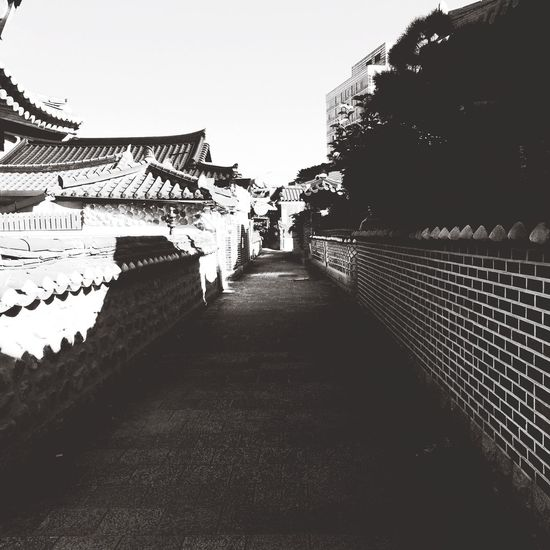South Korea Jeonju Hanok Village Iphone5s Trip Rows Of Things Light And Shadow