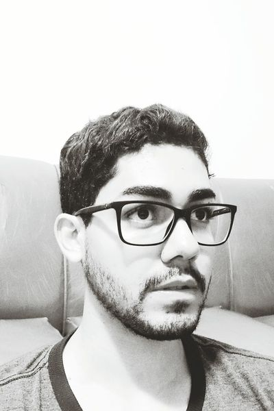 Serious Only Men Casual Clothing Attitude People Young Men Eyeglasses  Selfıe Day Face Mobile Phone Lenses Glasses Personality  Shades Of Black Shades Of Grey Beard EyeEm Selects