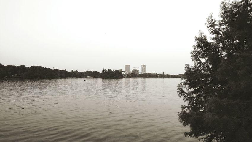 Check This Out București / Bucharest Blackandwhite Warm Lake View