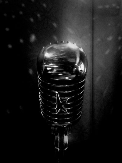 Karaoke Night Blackandwhite