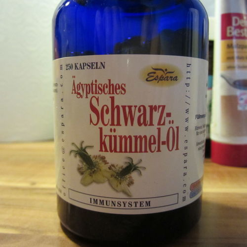 Schwarzkümmelöl Nahrungsergänzungsmittel Februar 2014