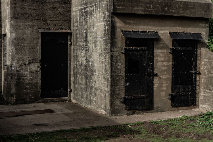 Architecture Built Structure Door Entrance Building Old Building Exterior No People Abandoned Outdoors Window Day House Weathered Wall Closed The Past History Remote Empty